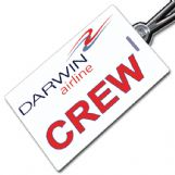 Darwin Airlines Crew Tag